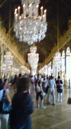 ベルサイユ宮殿も混雑