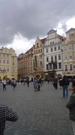 プラハは秋・小宮